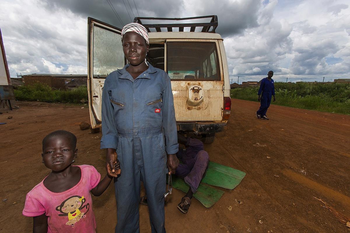 Uganda - deca vojnici