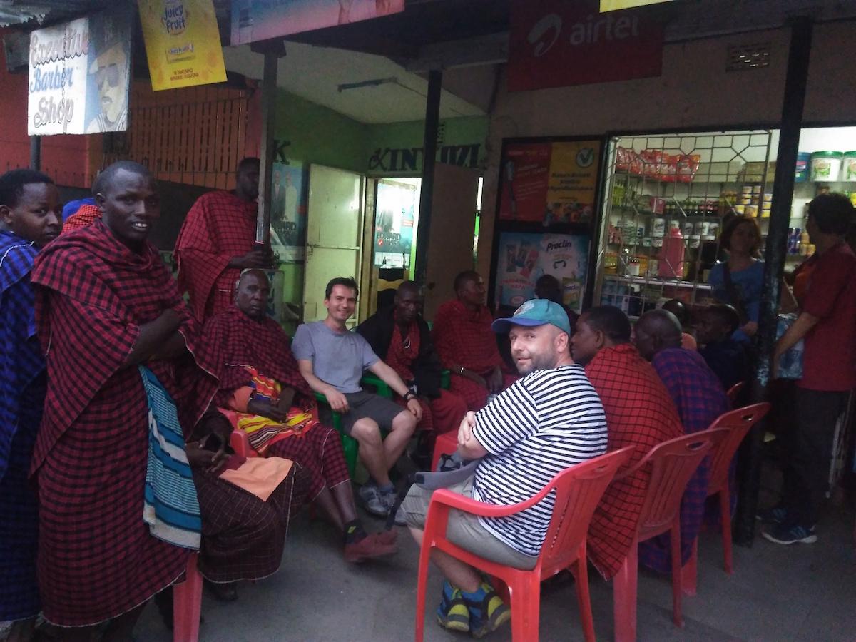 U razgovorima sa Masajima